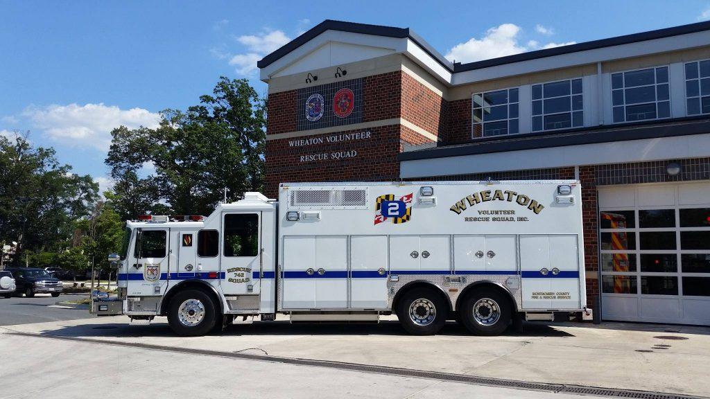 Wheaton Volunteer Rescue Squad Station