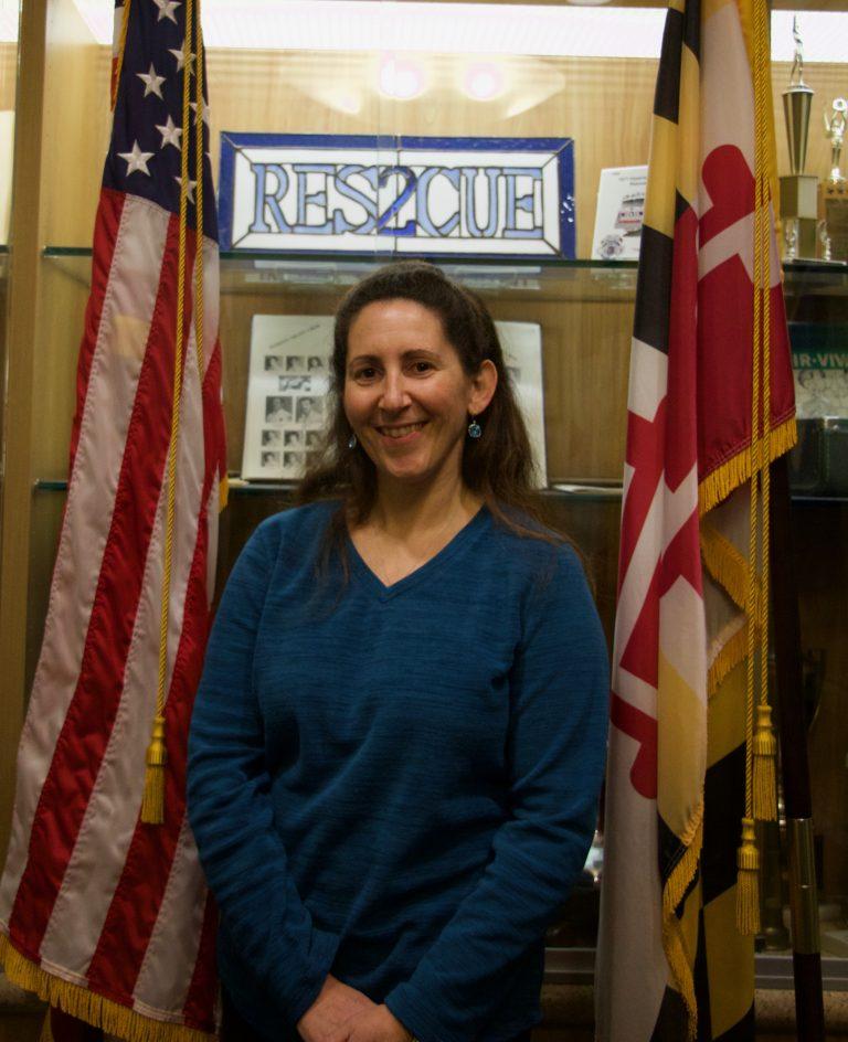Wheaton Volunteer Rescue Squad Secretary Rhonda Cohen