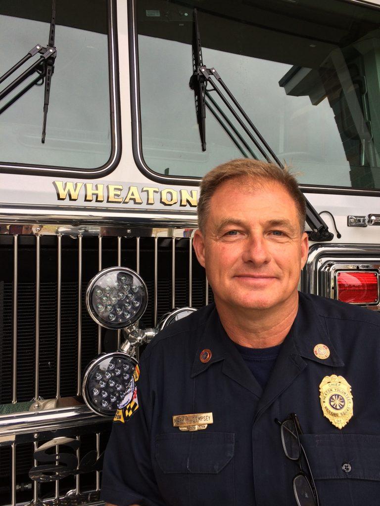 Wheaton Volunteer Rescue Squad Chief Mark Dempsey