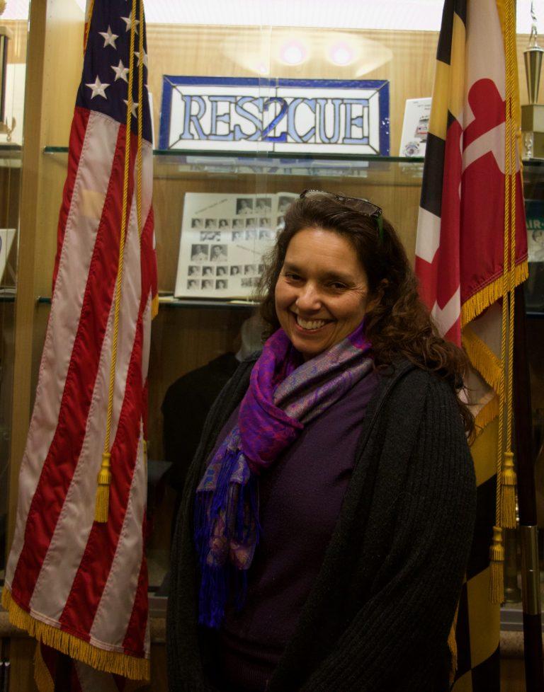 Wheaton Volunteer Rescue Squad Second Vice President Veronica Gallagher